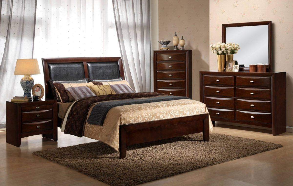The Emily 5-piece Bedroom Set – Hodedah – Quality Furniture for ...