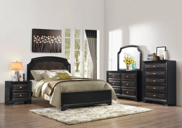The Farrah 5 Piece Bedroom Set