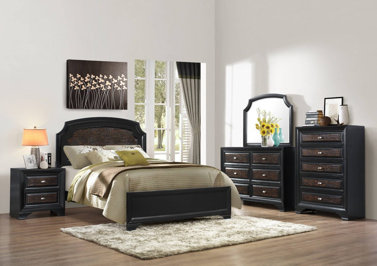 The Farrah 5 Piece Bedroom Set U2013 Hodedah U2013 Quality Furniture For The Home  And Office At Affordable Prices